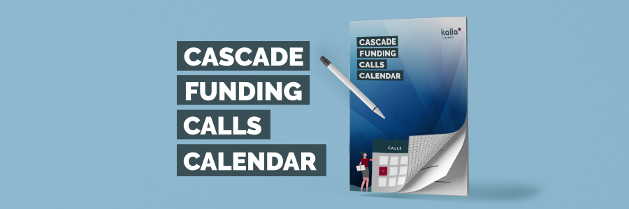 New calendar publication! All the latest Cascade Funding calls gathered in a single document